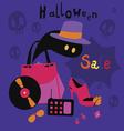 Halloween sale cartoons vector image
