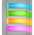 color banners vector image vector image