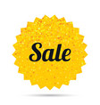 sale sign icon special offer symbol vector image