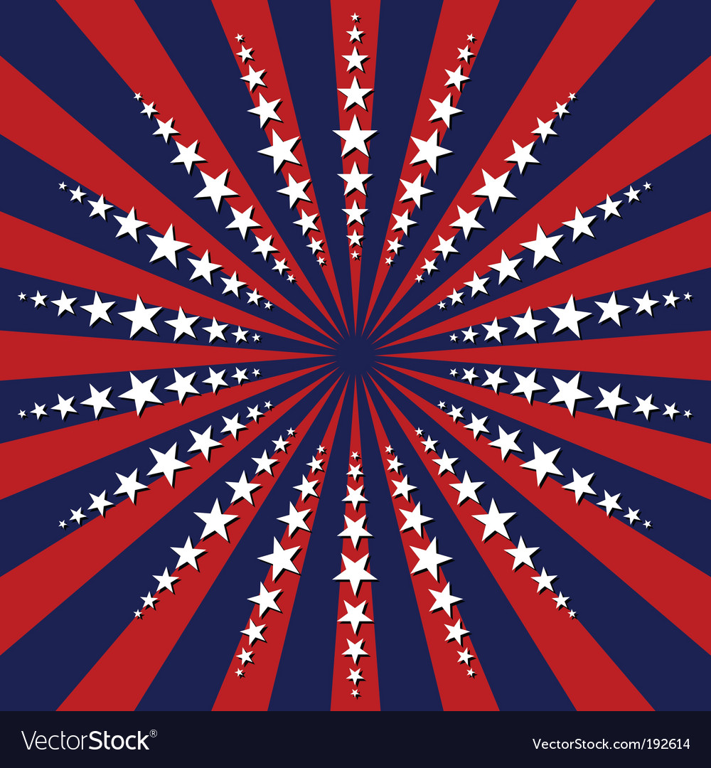 United states abstract background vector