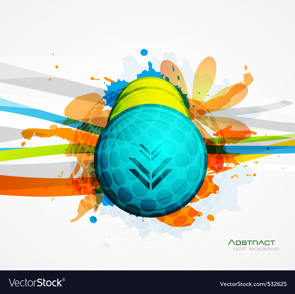 Artistic collage vector