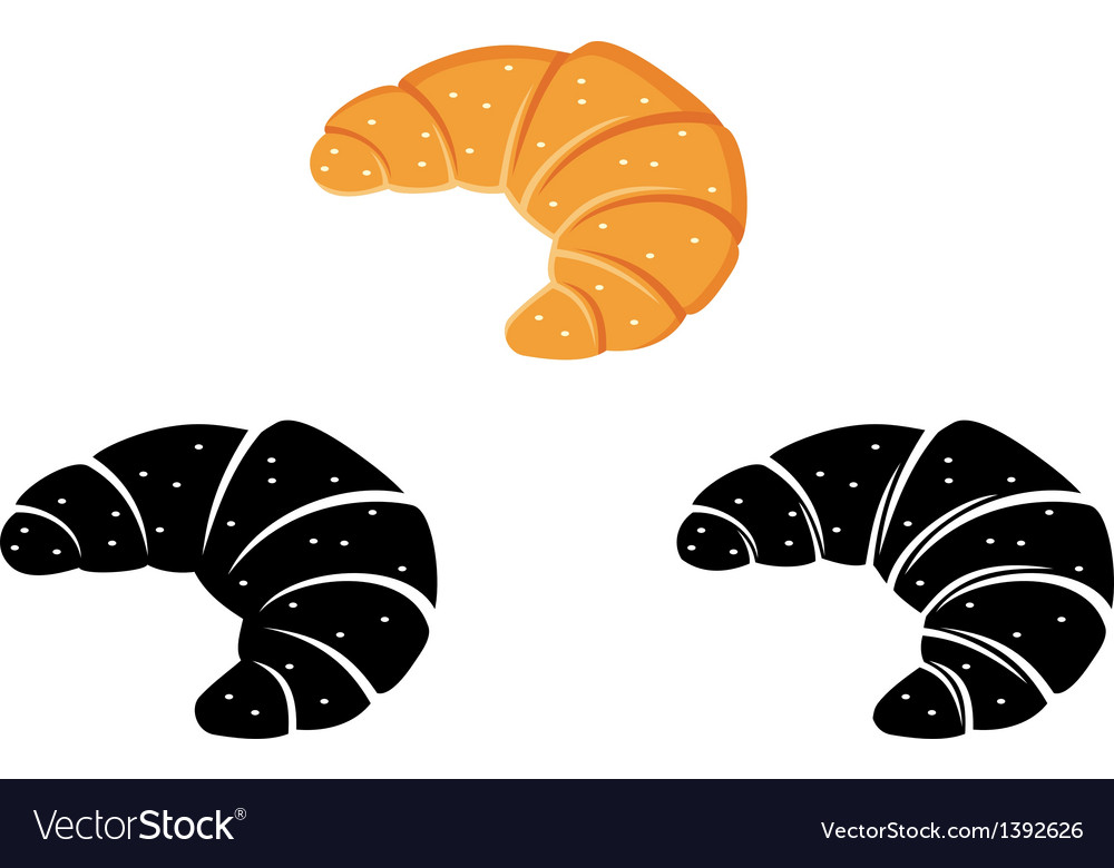 Set of loaves and bread vector