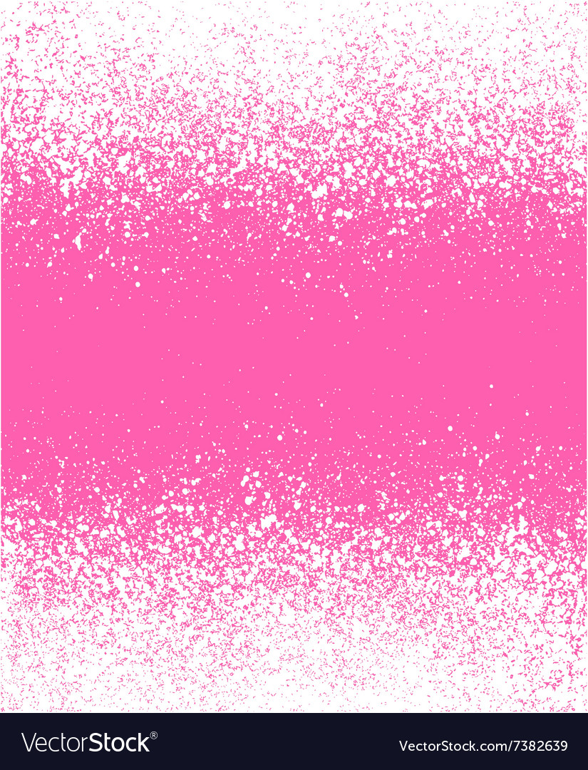 Graffiti effect winter gradient background in pink vector