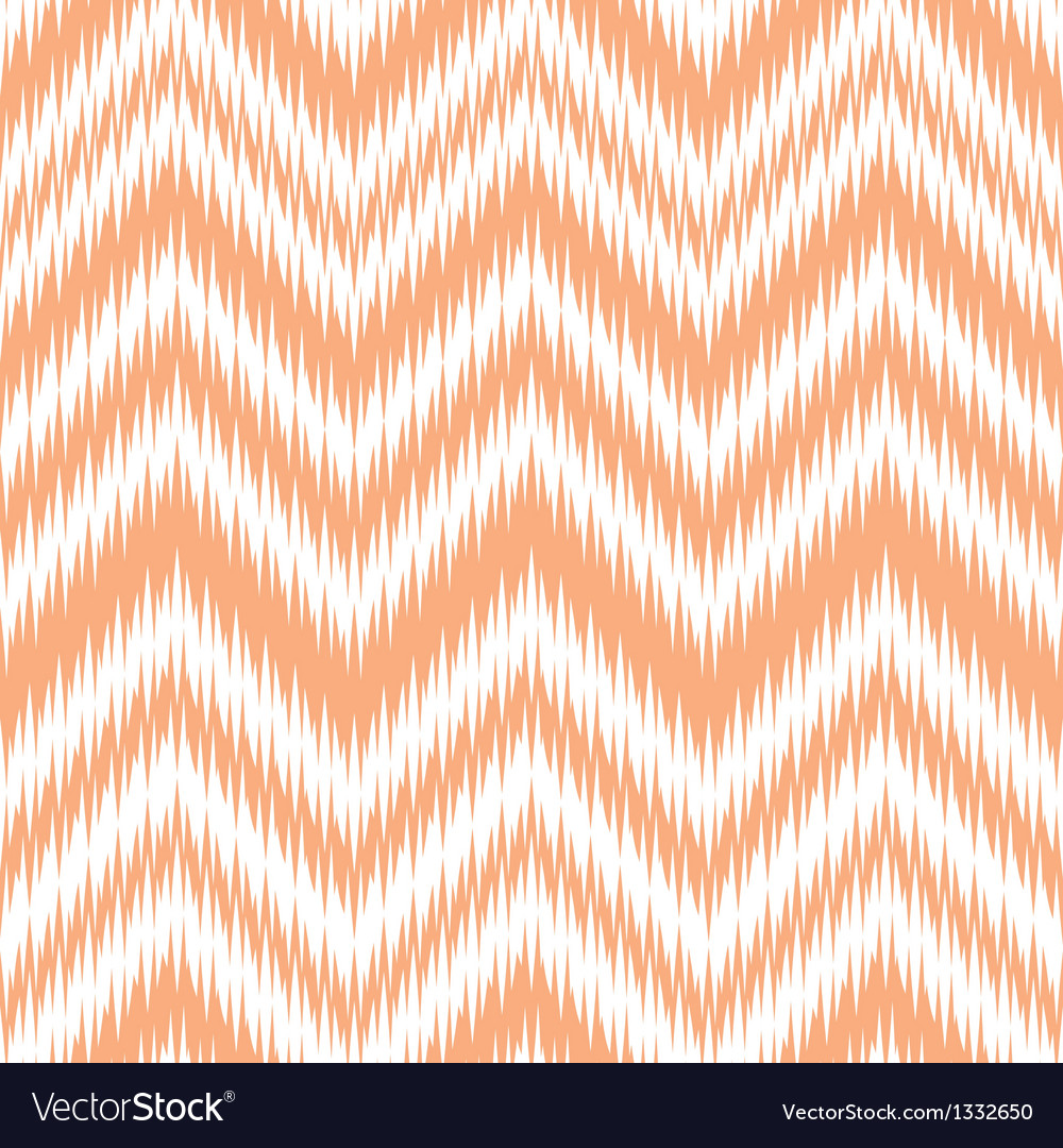Melon ikat chevron vector