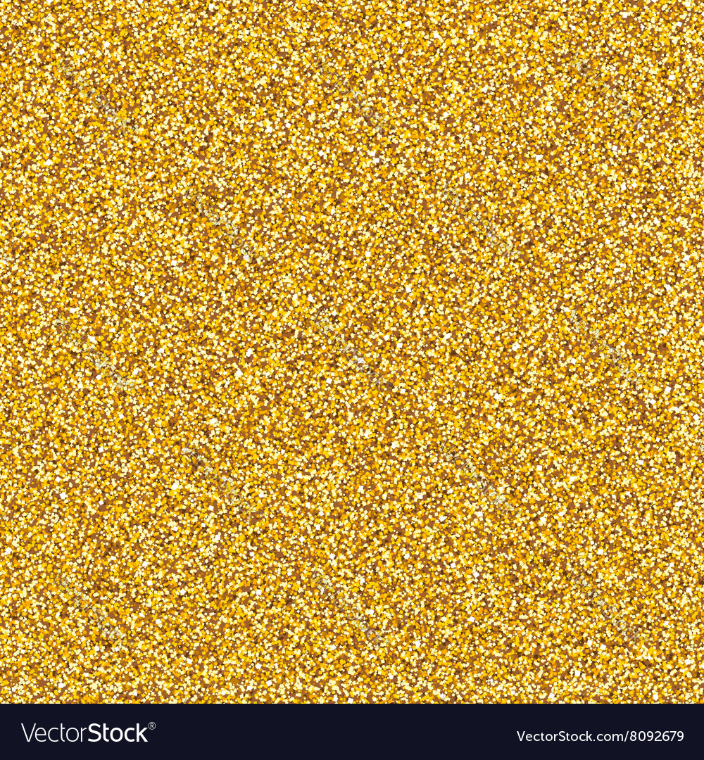 Golden glitter texture vector