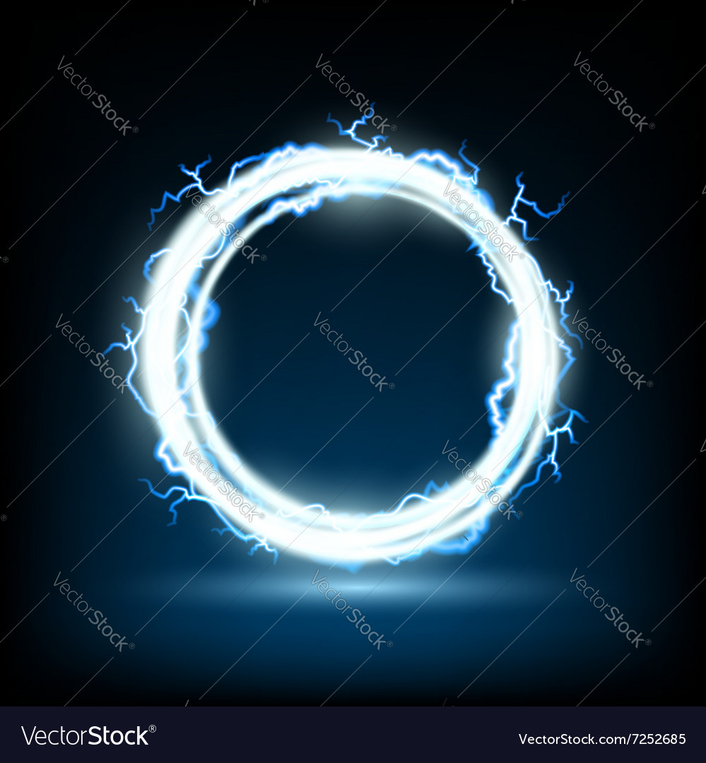 Round frame stock vector
