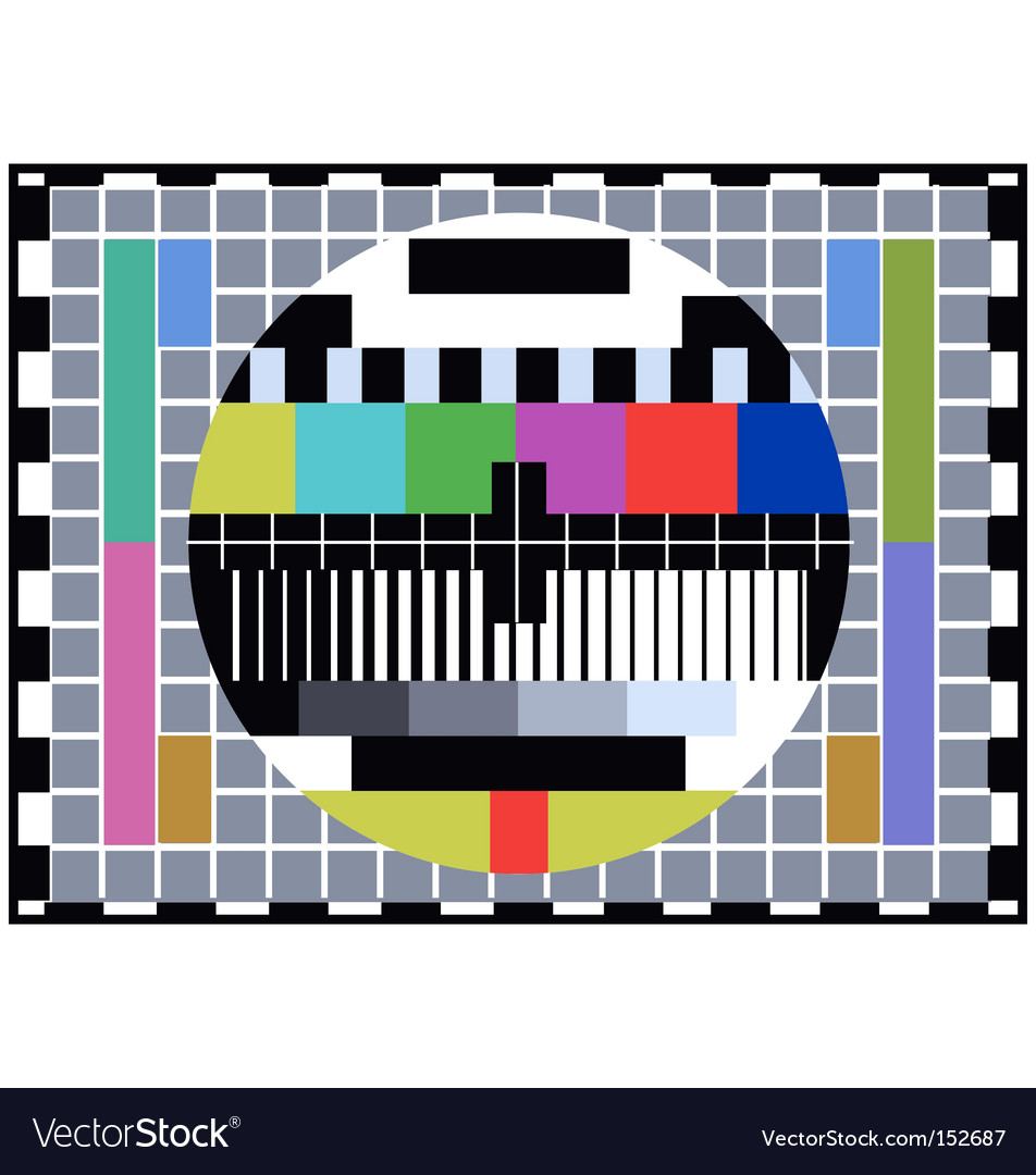 Tv distortion vector