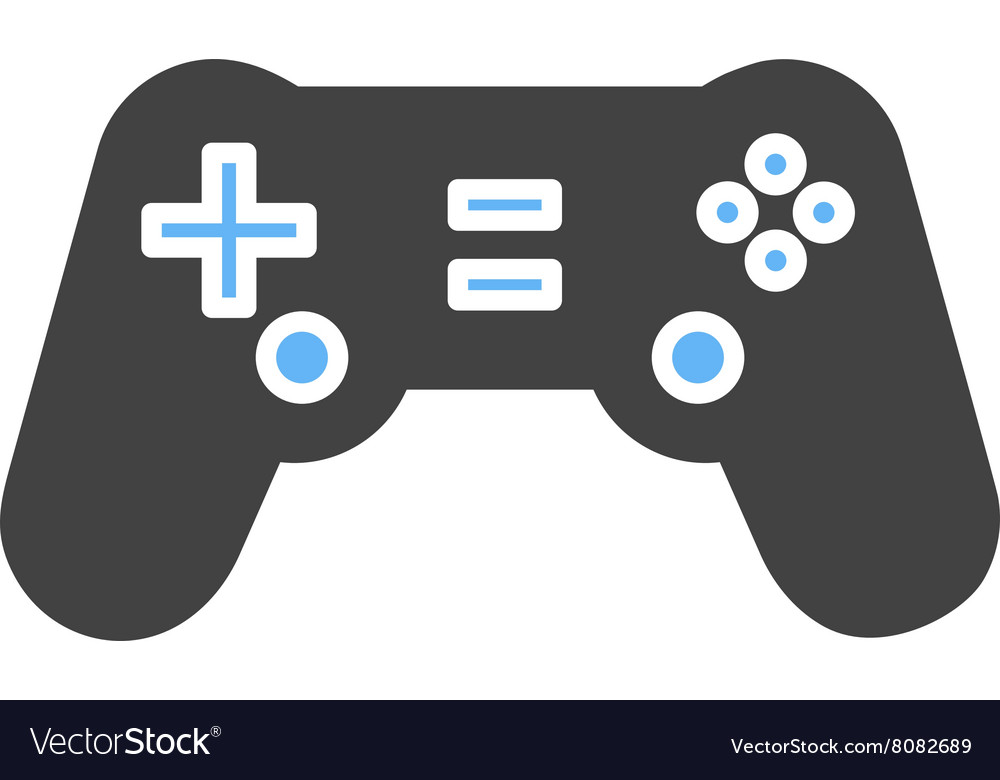 Gaming console i vector