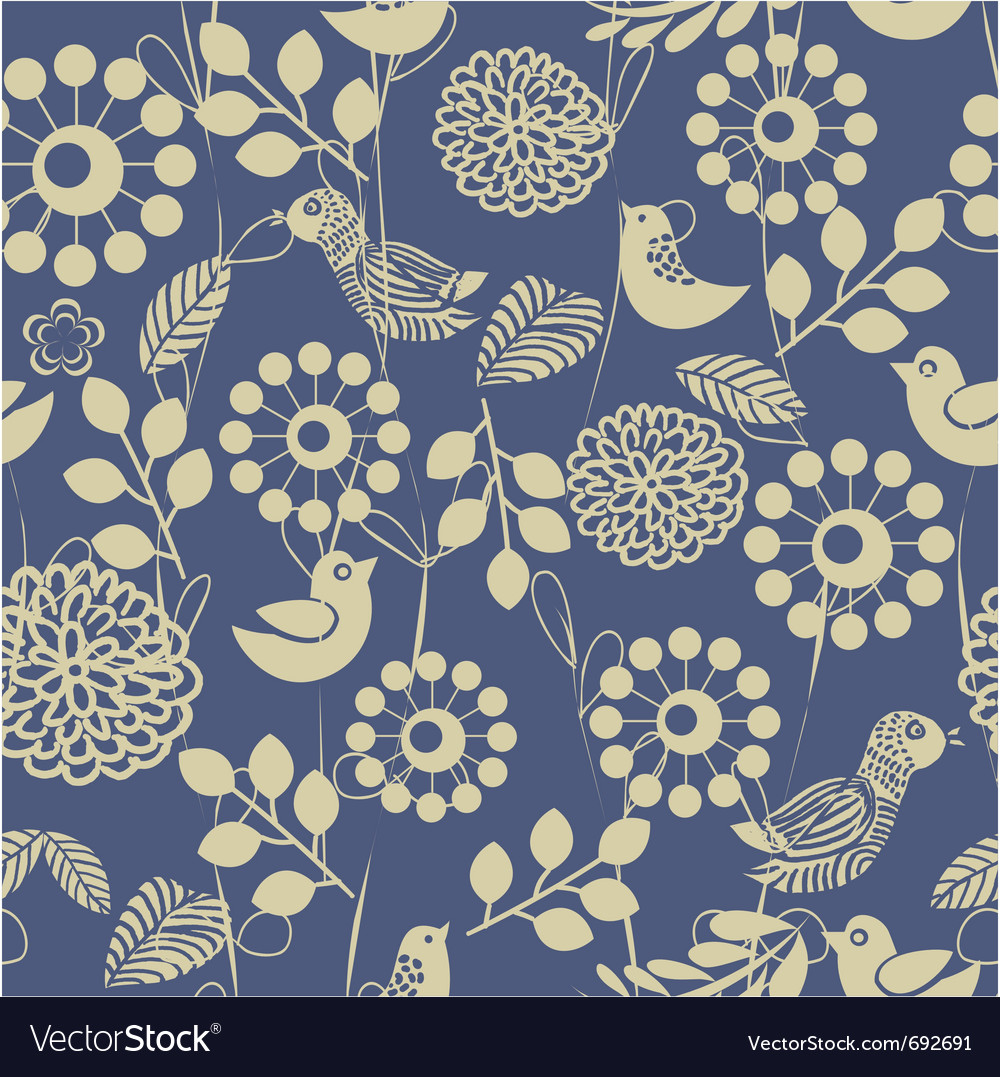 Floral pattern vector