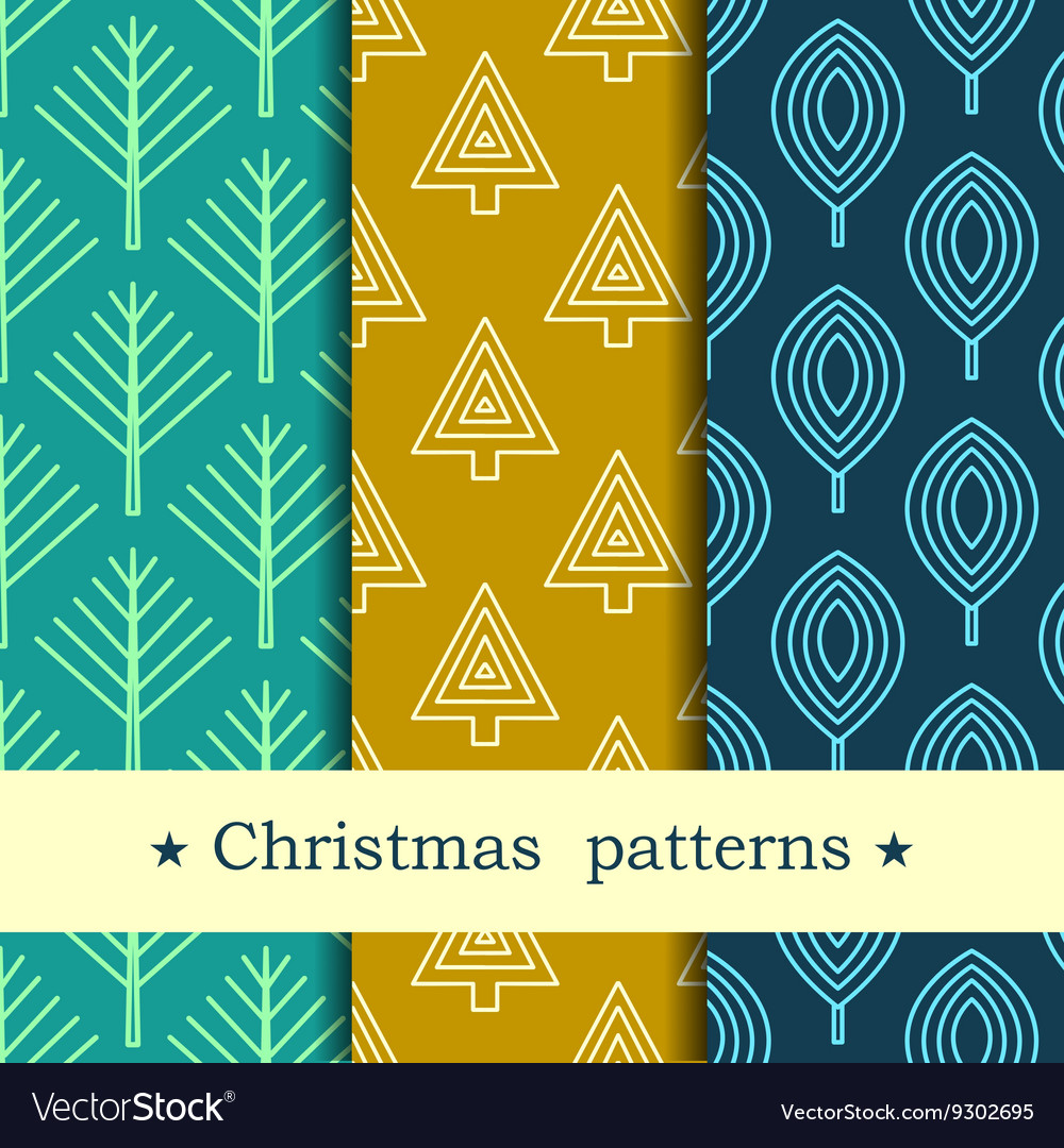 Seamless pattern for winter and christmas theme vector