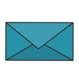 Isolated email envelope design vector image