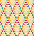 nordic sunrise rhombus pattern vector image