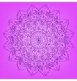 Round ornate vector image