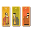 Fashion tags vector image vector image