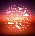 creative graphic poster for your design vector image