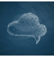 bubble icon vector image