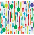 Cutlery background color vector image