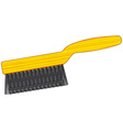 Wire brush tool vector image vector image