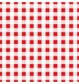 gingham fabric vector image