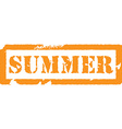 Summer stamp vector image
