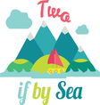Two If By Sea vector image