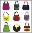 Fashion purse vector image