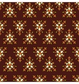 Geametric seamless pattern vector image
