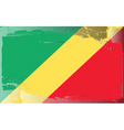 Republic Congo national flag vector image vector image