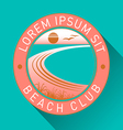 Generic Beach Logo vector image vector image