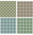 Big vintage plaid patterns set background vector image