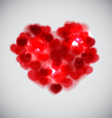 Blurred Heart vector image