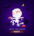 halloween cards vector image