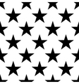 Stars seamless pattern big vector image vector image