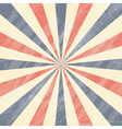 Colorful Circus Sunburst Background vector image