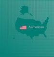 Aamerican map image was inspired by the cutting vector image