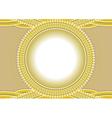 circle frame vector image