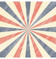 Colorful Circus Sunburst Background vector image