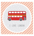 I love London4 vector image