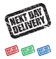 next day delivery vector image vector image