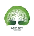 Tree logo Nature ecology icon Environment vector image