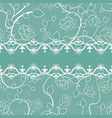 lace seamless pattern with pearls vector image