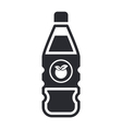 fruit juice icon vector image vector image