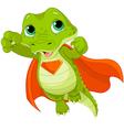 Super Alligator vector image vector image