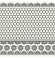 seamless asian pattern vector image