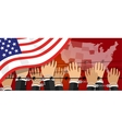 us USA human rights freedom in america united vector image