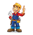 Construction worker vector image vector image