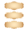 Ancient scrolls set vector image vector image