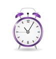 Realistic Clock Alarm Watch vector image