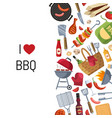 barbecue or grill cooking vector image