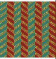 Christmas Seamless chevron pattern Red green and vector image vector image